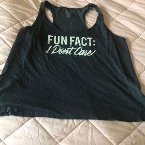 Fun fact: I don't care